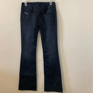 Diesel Louvely Slim Bootcut Jeans Size W26 L32
